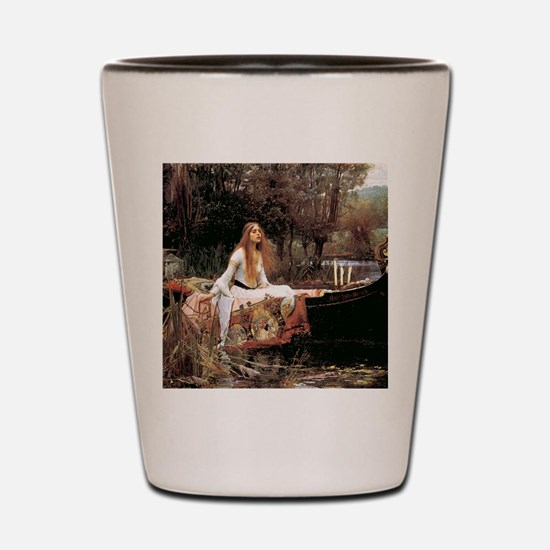 The Lady Of Shallot - 1- 18x13.693 Shot Glass