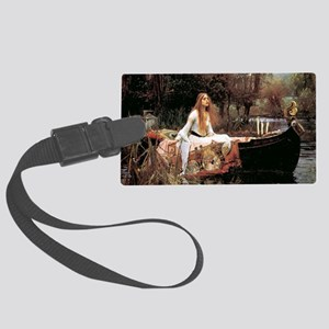 The Lady Of Shallot - 1- 18x13.6 Large Luggage Tag