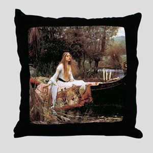 The Lady Of Shallot - 1- 18x13.693 Throw Pillow