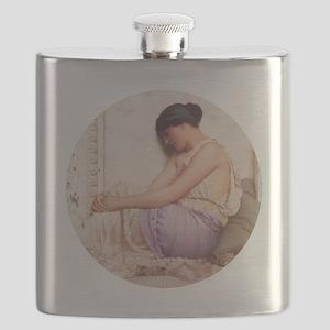 Grecian Girl 1908 Flask