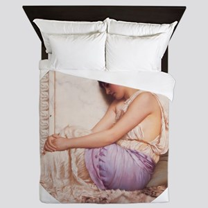Grecian Girl 1908 Queen Duvet