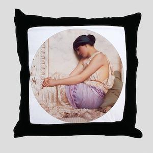 Grecian Girl 1908 Throw Pillow