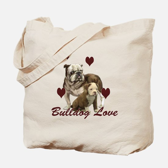 Bullddog Love Tote Bag
