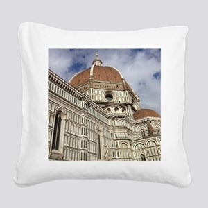 The Duomo Square Canvas Pillow