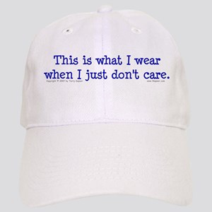Wear/Don't Care. Cap