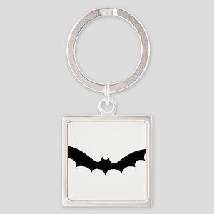 White bat halloween Keychains