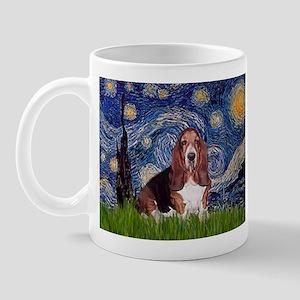 Starry / Basset Hound Mug