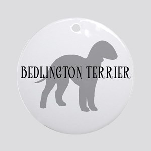 Bedlington Terrier Ornament (Round)
