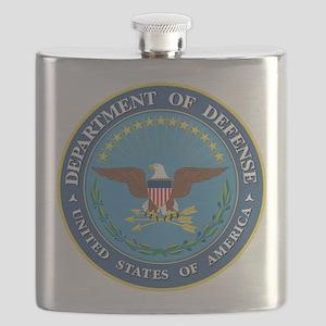 DOD Seal Flask