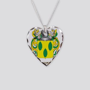 Cleary Coat of Arms Necklace Heart Charm