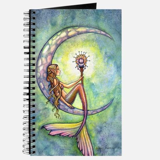 Mermaid Moon Fantasy Art Journal