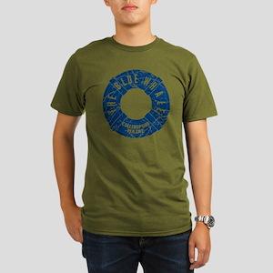 Dark Shadows Blue Wha Organic Men's T-Shirt (dark)