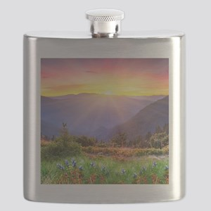 Majestic Sunset Flask