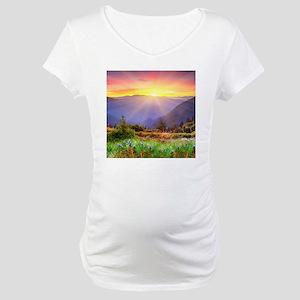 Majestic Sunset Maternity T-Shirt