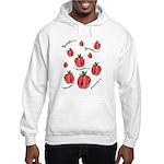 Strawberry Delight Hooded Sweatshirt