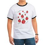 Strawberry Delight Ringer T