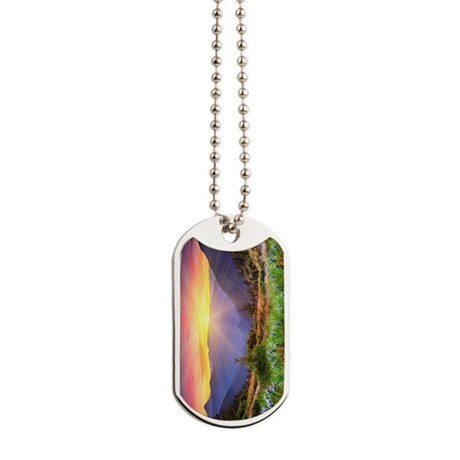 Majestic Sunset Dog Tags