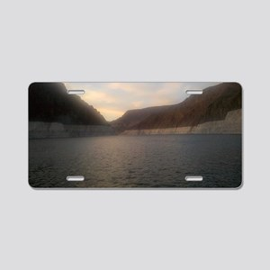 Lake Mead 1 Aluminum License Plate