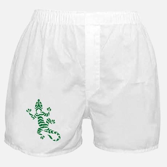Tribal Gecko Boxer Shorts