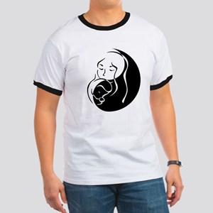 Zen Mama and Babe Ringer T