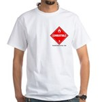 Combustible White T-Shirt