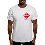 Combustible Ash Grey T-Shirt