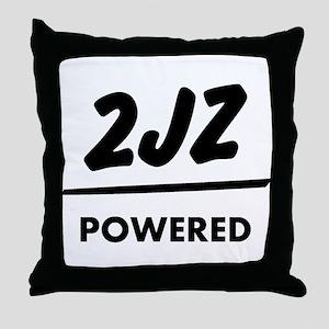JDM T Engine powered 2jz |JDM Throw Pillow