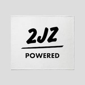 JDM T Engine powered 2jz |JDM Throw Blanket
