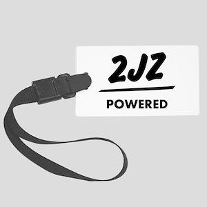 JDM T Engine powered 2jz |JDM Large Luggage Tag