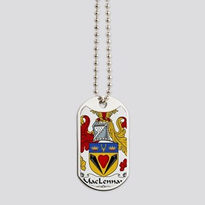 MacLennan Family Crest Dog Tags