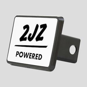 JDM T Engine powered 2jz | Rectangular Hitch Cover