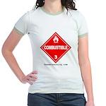 Combustible Women's Ringer T-Shirt