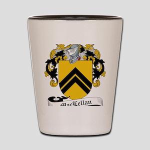 MacLellan Family Crest / Coat of Arms Shot Glass