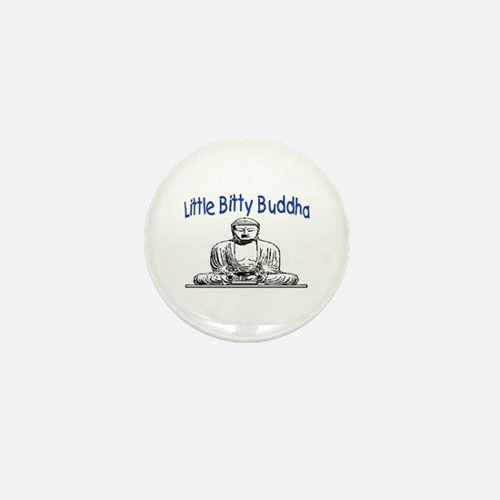 LITTLE BITTY BUDDHA Mini Button