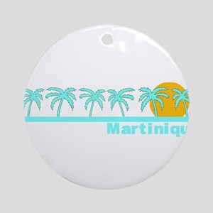Martinique Ornament (Round)