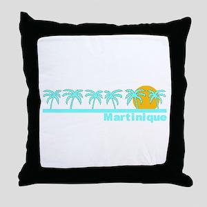 Martinique Throw Pillow