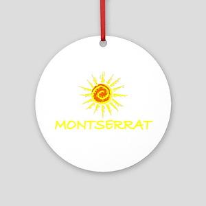 Montserrat Ornament (Round)
