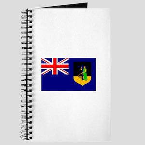 Montserrat Flag (Dark) Journal