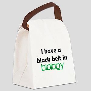 biology black belt Canvas Lunch Bag