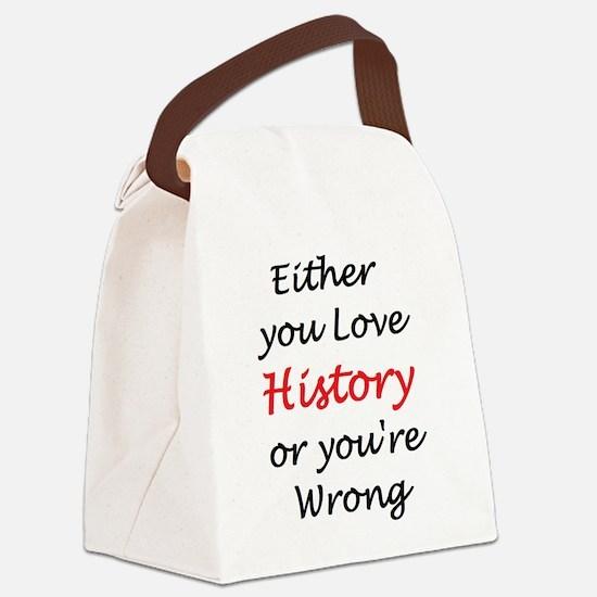 Funny Teach Canvas Lunch Bag