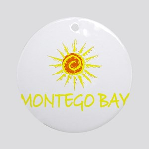 Montego Bay, Jamaica Ornament (Round)