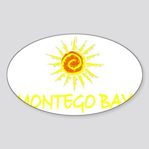 Montego Bay, Jamaica Oval Sticker