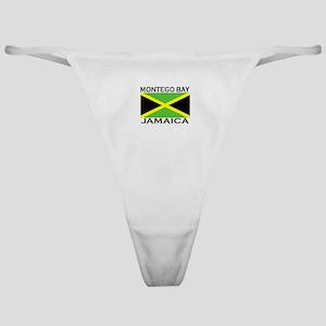 Montego Bay, Jamaica Flag Classic Thong