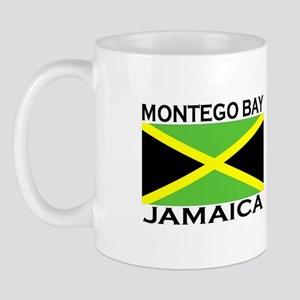 Montego Bay, Jamaica Flag Mug