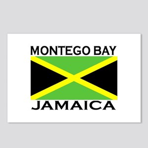 Montego Bay, Jamaica Flag Postcards (Package of 8)