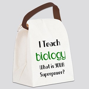 biology Canvas Lunch Bag