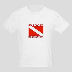 Dive Montego Bay, Jamaica Kids Light T-Shirt