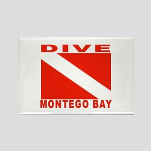 Dive Montego Bay, Jamaica Rectangle Magnet