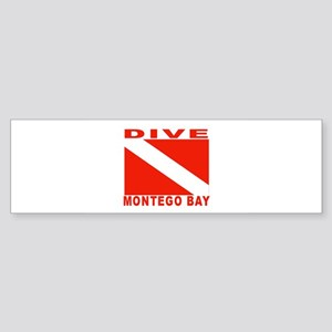 Dive Montego Bay, Jamaica Bumper Sticker