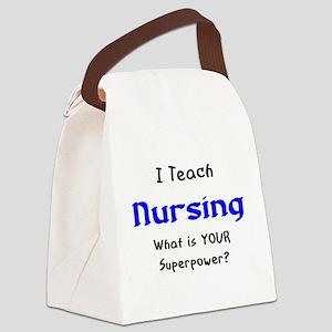 teach nursing Canvas Lunch Bag